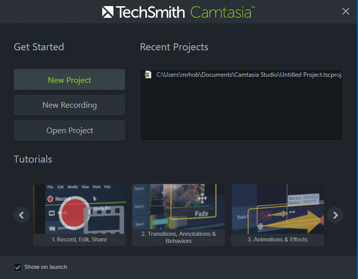 Easy and Faster: Using the New Camtasia 9